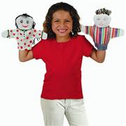 Color-Me Hand Puppets (pack of 12)