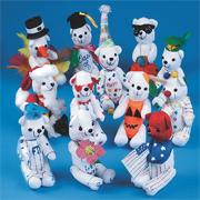 Color-Me Bears  (pack of 12)