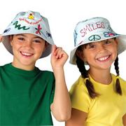 Color-Me Bucket Hats  (pack of 12)