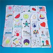 Color-Me� Quilt (pack of 25)