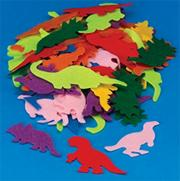 Felt Dino Shapes (pack of 500)