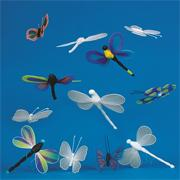 Color-Me� Dragonfly and Butterfly (pack of 36)