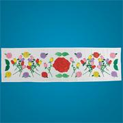 Roses Dresser Scarves (pack of 6)