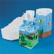 Color-Me� Tissue Box Cover (pack of 12)