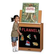 Sproutz� Big Book Easel, Flannel