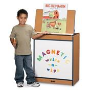 Sproutz Big Book Easel, Magnetic Write-N-Wipe
