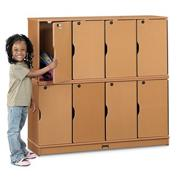 Sproutz� Lockable Locker, Double Stack