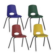 Stackable School Chair, 18&quot;