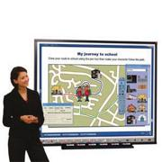"Teamboard Interactive Whiteboard 62""x50"""