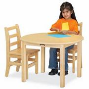 "Multipurpose Half Round 30"" Table"