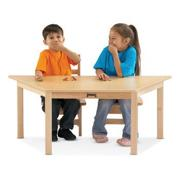 Multipurpose Trapezoid Table