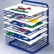 15 Slot Classroom Paint Drying Rack