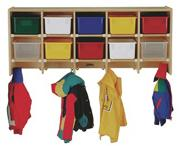 Coat Locker without Trays