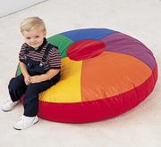 Color Wheel Floor Pillow