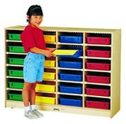 24 Paper-Tray Cubbie Without Trays