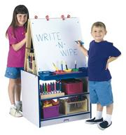 Rainbow Accents� Two-Station Easel