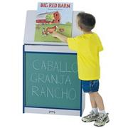 Rainbow Accents Chalkboard Big Book Easel