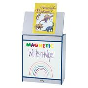 Rainbow Accents� Magnetic Write-n-Wipe Big Book Easel