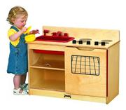 "Jonti-Craft� 2-in-1 Kinder-Kitchen, 30""x15""x23-1/2"""
