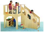 Tiny Tots Loft, 24-36 mos., w/o Bins