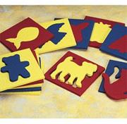 Familiar Things by Lauri Foam Shapes (set of 12)