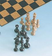 Staunton Chess Playing Pieces Set (set/32)