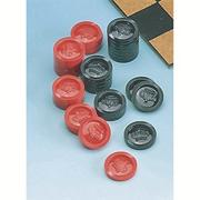 Checker Playing Pieces Set  (set of 30)