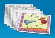 Moon Coloring Placemats  (set of 10)