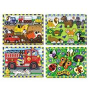 Melissa & Doug� Chunky Puzzles  (set of 4)