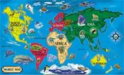 Melissa &amp; Doug Floor Puzzle World Map