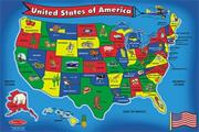 Melissa & Doug� Floor Puzzle USA Map