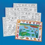 Coloring Placemats, On the Water  (pack of 10)