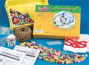 Jungle Jute Wrap Bracelets Craft Kit (makes 36)