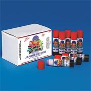 Color Splash!� Glue Stick, Purple  (pack of 30)
