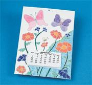 Color-Me Coloring Fun Calendars Craft Kit (makes 24)