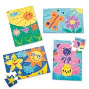 Color-Me Puzzles Junior Edition Craft Kit (makes 24)