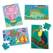 Color-Me Puzzles Senior Edition Craft Kit (makes 24)