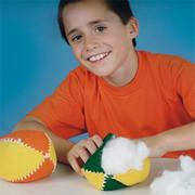Stuffed Football Craft Kit (makes 12)