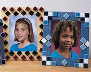 EduCraft Mosaic Tile Picture Frames Craft Kit (makes 12)