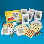Multicultural Picture Frames Craft Kit (makes 24)