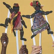 EduCraft African Rhythm Makers Craft Kit (makes 48)