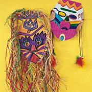 EduCraft� Tribal Mask Kit  (makes 24)