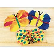 EduCraft Scholastic Watercolor Butterflies Craft Kit (makes 30)