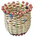 Ancient Culture Jute Basket Craft Kit (makes 24)