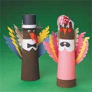 Tom and Tina Turkey Craft Kit (makes 24)