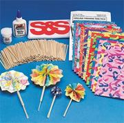 Fabulous Firework Fans Craft Kit (makes 32)