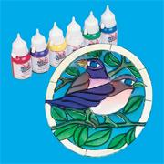 Theracraft Sun Catchers- Bird Theme Craft Kit (makes 12)
