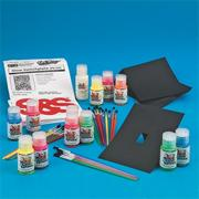 Glow-in-the-Dark 3-D Switch Plate Covers Craft Kit (makes 24)