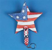 Patriotic Starlights Craft Kit (makes 12)