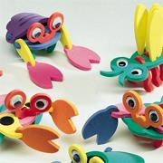 Super Foam Kooky Creatures Craft Kit (makes 12)